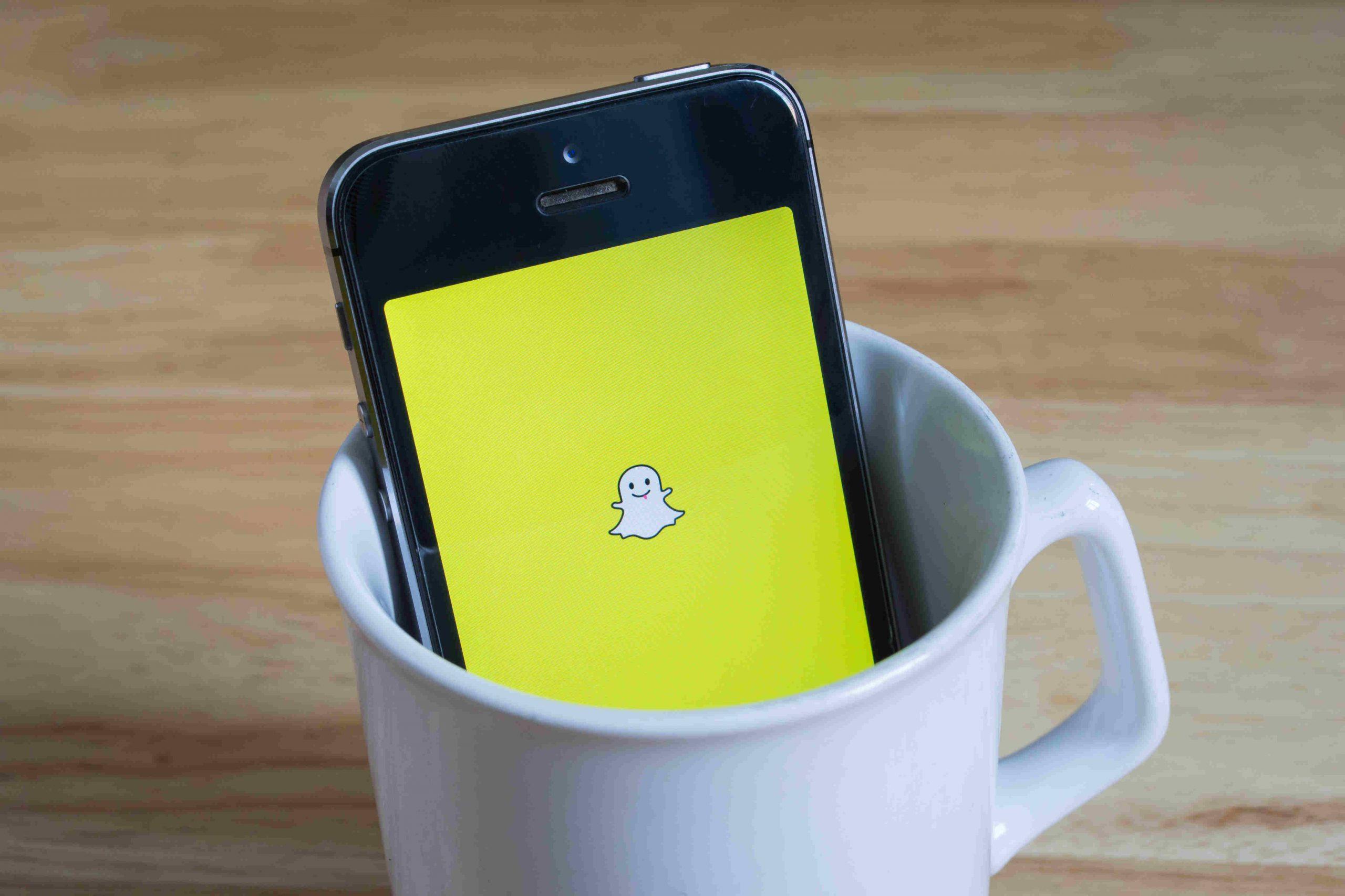 Snapchat in a Mug