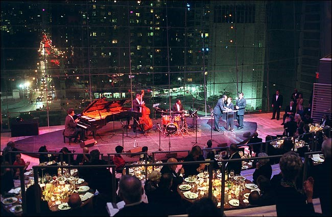 Fundraising Event at the Jazz Lincoln Centre